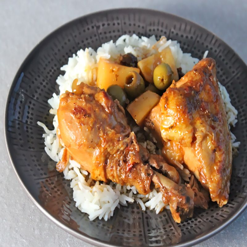 Cuban-Style Chicken Stew (Fricasé de Pollo)
